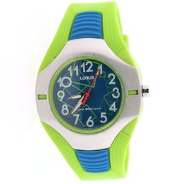 Lorus Kids sport watch green blue steel